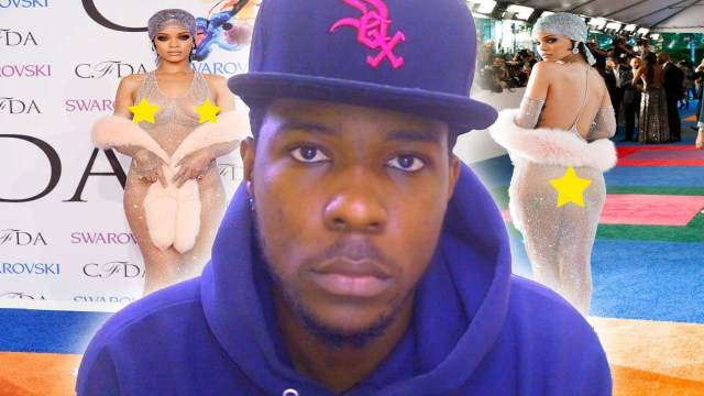 #Reaction: Rihanna's See Through Nude Dress At CDFA 2014 @Kevin2woKrayzee