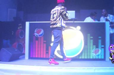 G Whizz Performing At Portmore Star Competition (Famous Night Club)