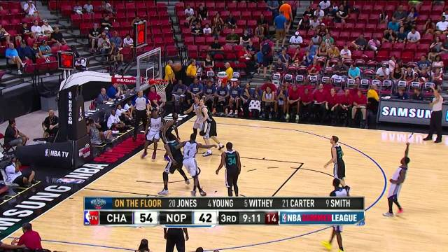 Summer League: Charlotte Hornets vs New Orleans Pelicans