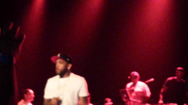 Lloyd Banks Performed At Providence Rhode Island