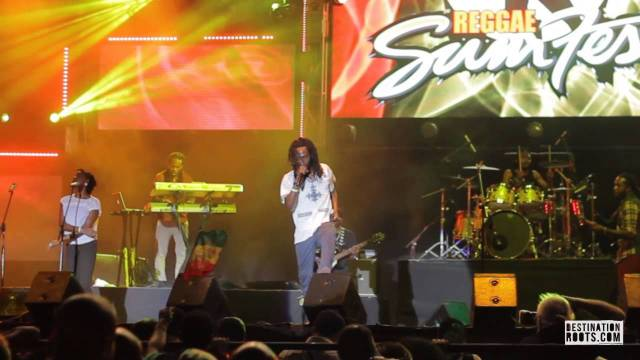 Jesse Royal at Reggae Sumfest 2014