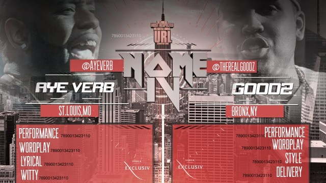 Smack/URL Battle: Aye Verb Vs. Goodz (Hosted By Jadakiss)