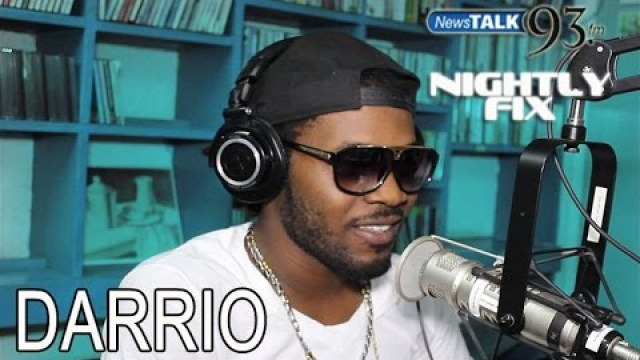Darrio talks being apart of Subkonshus Music on Nightly Fix NewsTalk93FM