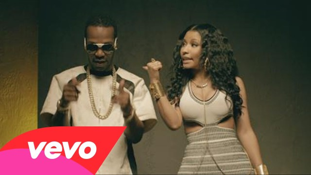 Juicy J feat. Nicki Minaj, Lil Bibby, & Young Thug – Low