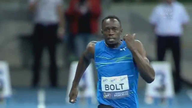 Usain Bolt Breaks 100m Indoor World Record Skolimowska Memorial 2014