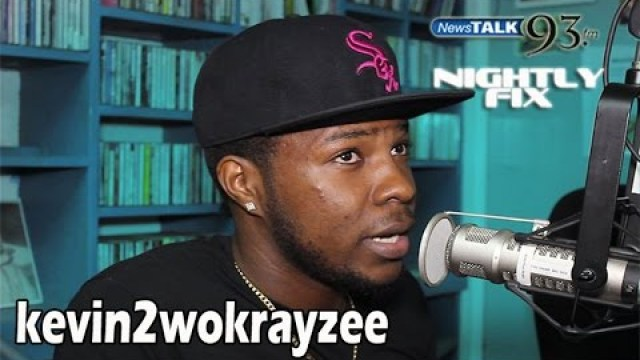 "kevin2wokrayzee talks career as a vlogger + ""Jamaica DWL"" on Nightly Fix NewsTalk93FM"