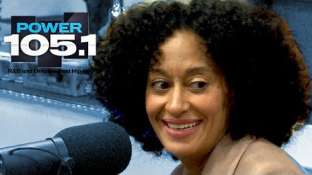 Tracee Elliss Ross Interview at The Breakfast Club Power 105.1