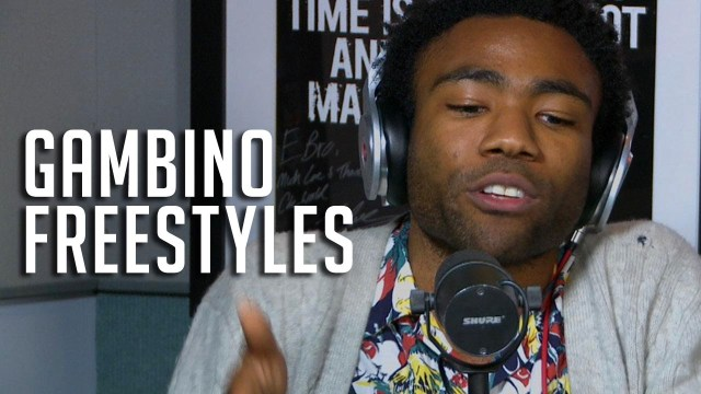 Childish Gambino's Freestyle for Rosenberg on Hot97!