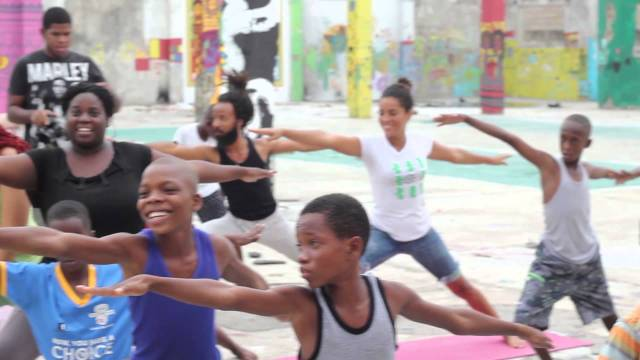 Yoga at 41 FLEET ST / PAINT JAMAICA