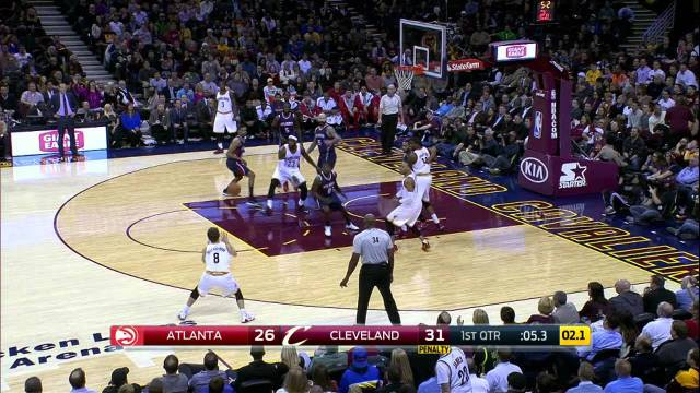 NBA: Lebron James with the Crafty Crossover