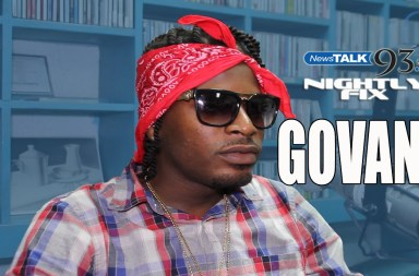 Govana aka Deablo talks name change, loyalty to Aidonia + Gaza/JOP comparisons on Govana, the artiste formerly known as Deablo, stopped by Nightly Fix and spoke on the reasons behind his name change, being loyal to Aidonia + comparisons between artistes from the Aidonia led JOP/4th Generation camp and Vybz Kartel's Gaza Empire.   Listen to Nightly Fix Thursday nights 9-11pm on NewsTalk93FM!@NightlyFix