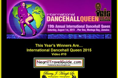 2015 International Dancehall Queen Winners