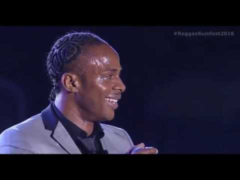 Dexta Daps Performance at Reggae Sumfest 2016