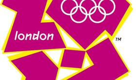 Handout photo of the new London Olympic Games 2012 emblem