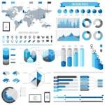 stock-illustration-23250680-blue-infographics-set