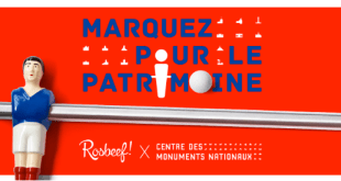 «Marquez pour le patrimoine» avec le CMN, Bonzini et Rosbeef!