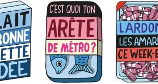 Rosapark crée Les Monojis, le pack d'emojis de Monoprix