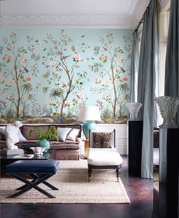 3d Wallpapers For Home Interiors Designing Interiors With Chinoiserie Inspired Wallpaper