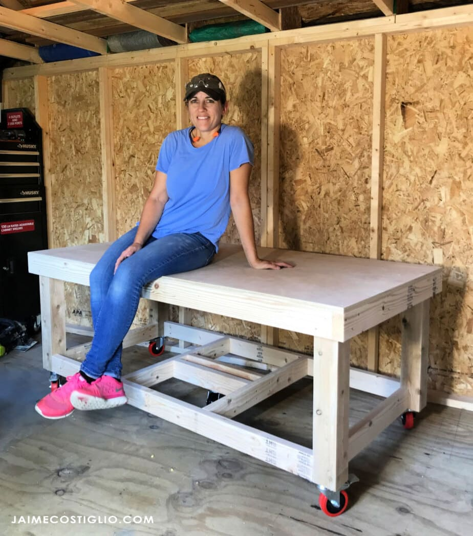 Diy Low Workbench Free Plans Jaime Costiglio