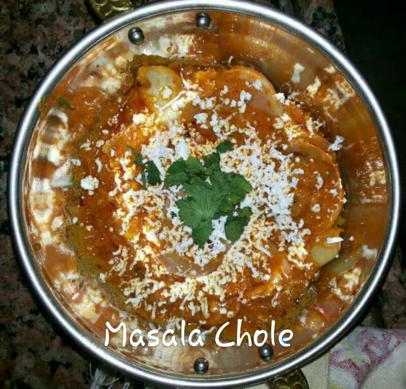 Masal Chole Jain Cooking Recipe