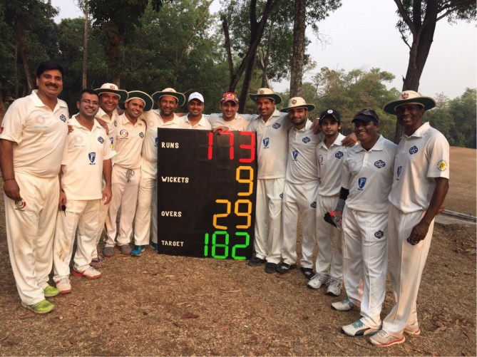 Sushant's all-round performance helps Menara CC beat WPP India XI by 7 runs in a close game