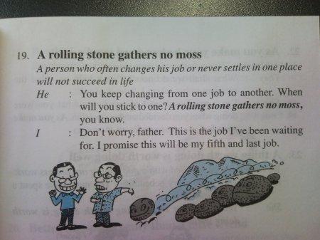 Stone That Gathers No Moss