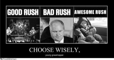 Rush, Rush Limbaugh, and Rush Spurlock