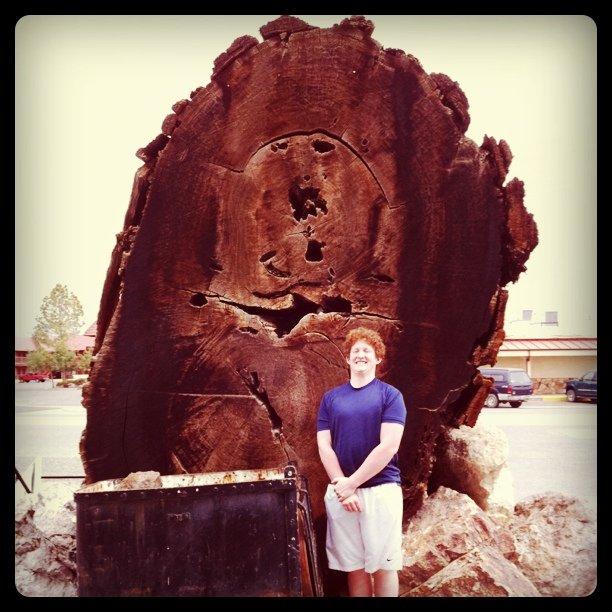 @BenDaSpur got wood in Lovelock.