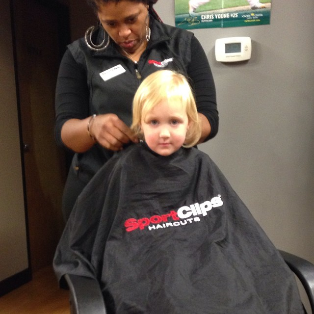 Checked in at Sport Clips