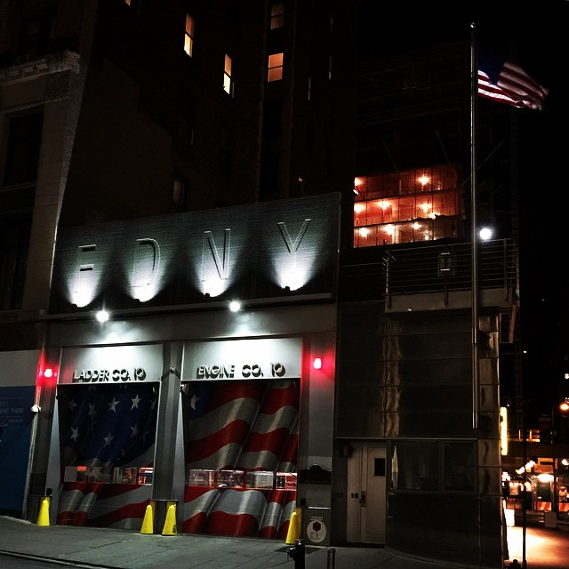 Checked in at FDNY Engine 10/Ladder 10