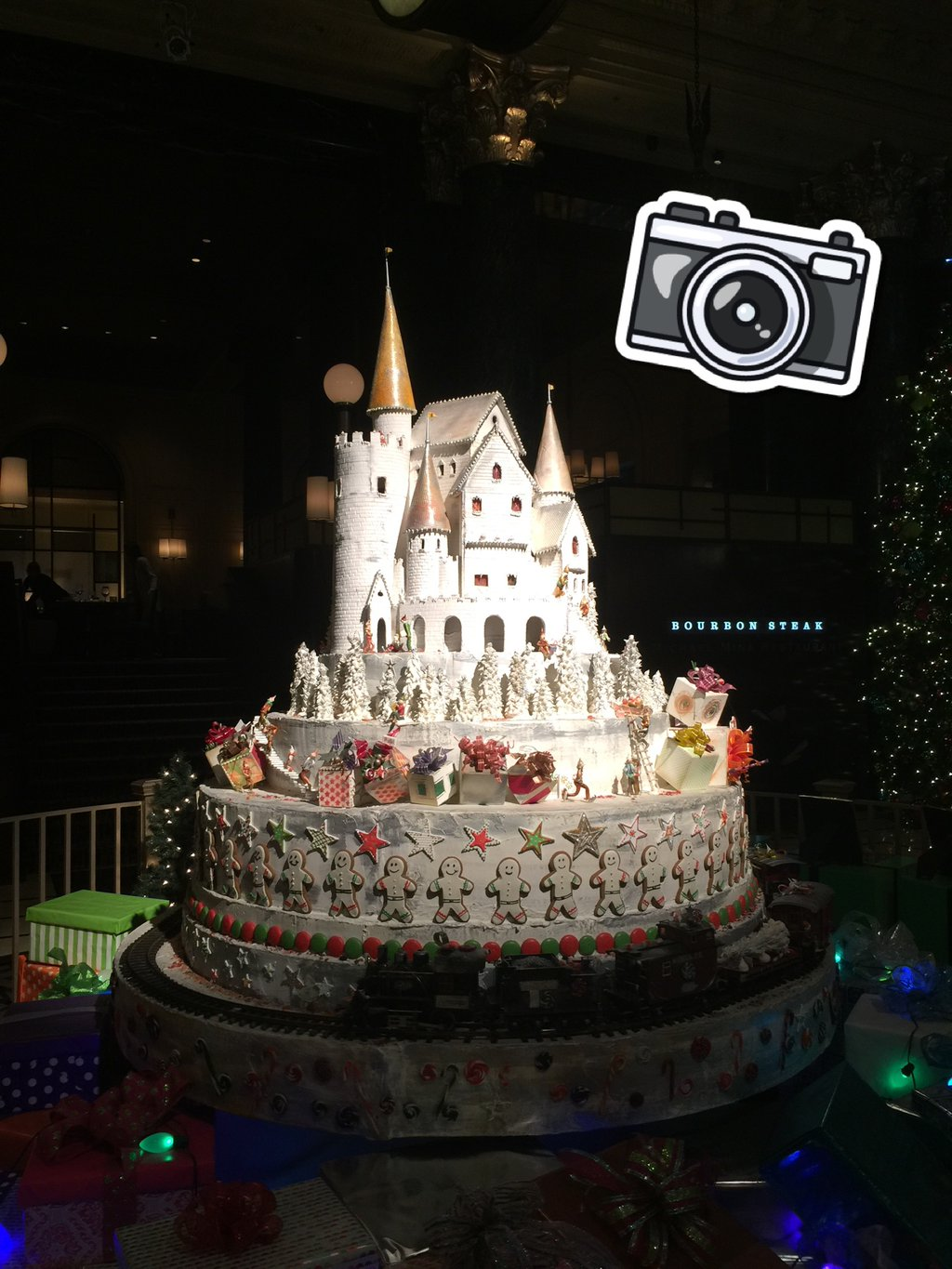Gingerbread house hunting... (@ The…