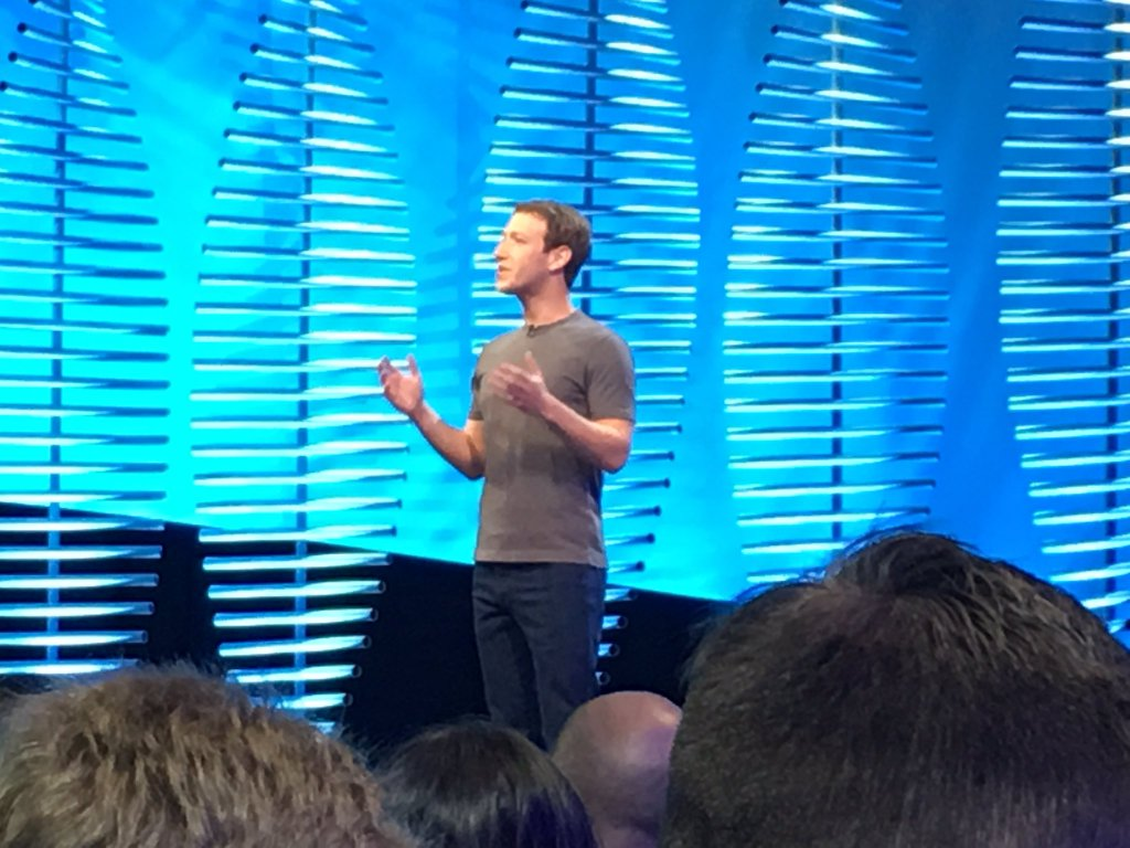 RT @BloomTV: Mark Zuckerberg onstage…