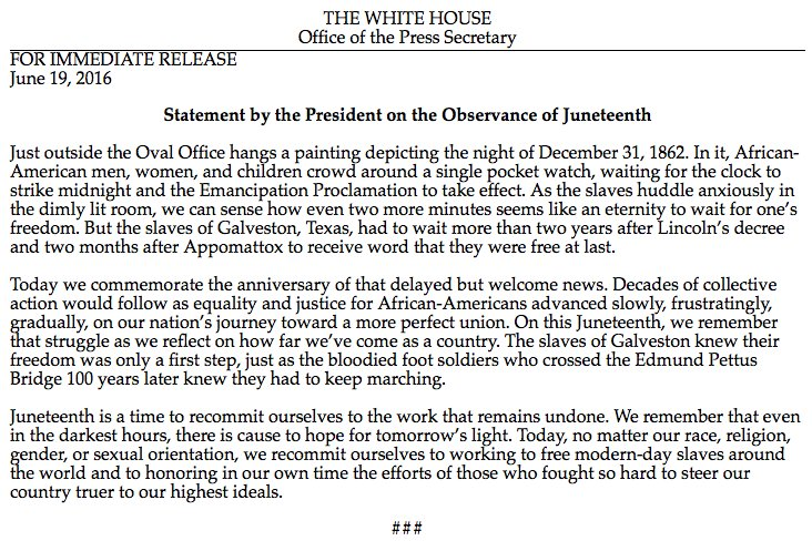 """RT @WhiteHouse: """"Even in the…"""
