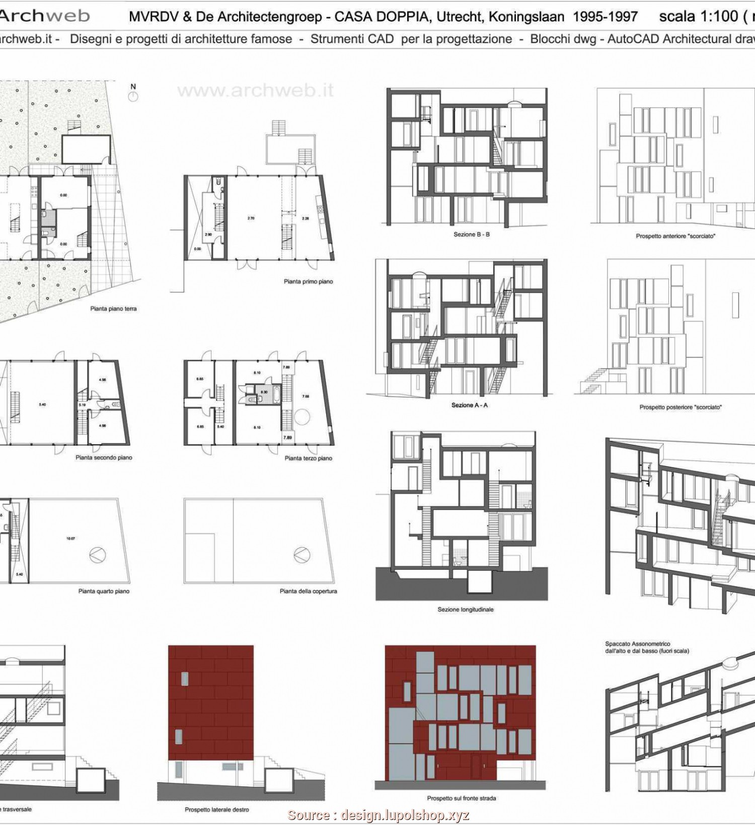 Doors Archweb Dwg A Downloadable Library Of Free Dwg Drawings By Flan Studio Flan Studio Sc 1 St Archdaily
