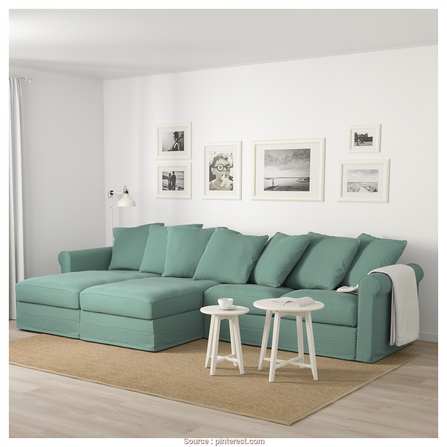 Gronlid Divano 3 Posti Maestoso Ikea GrÖnlid Sectional 4 Seat With Chaise Ljungen Light - Divano Reclinabile Ikea