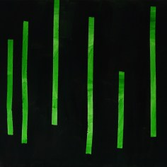 chaluhy 1 / algae 1, 105x80 cm, akryl na plátně / acrylic on canvas, 2015