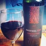 El otro descubrimiento fue el Apothic Red un blend californianohellip