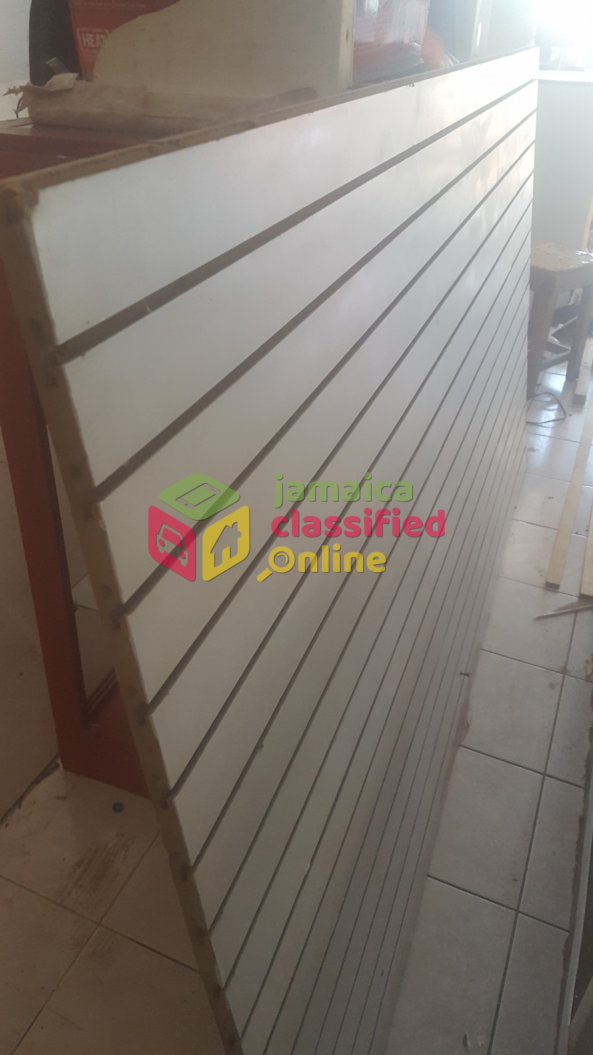 Slat Walls Slat Walls Glass Showcases For Sale In St Ann S