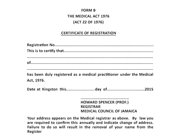 News - jamedcouncil - medical certificate from doctor