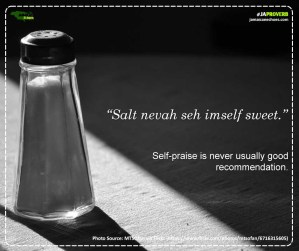 Ja Proverb_Salt Nevah Seh_FB