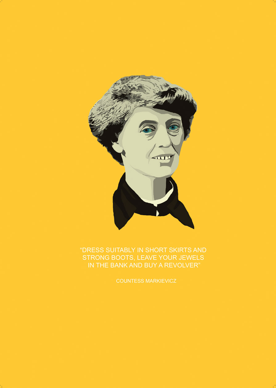 Short Quotes Wallpaper Hd 1916 Rising Countess Markievicz Signed Limited