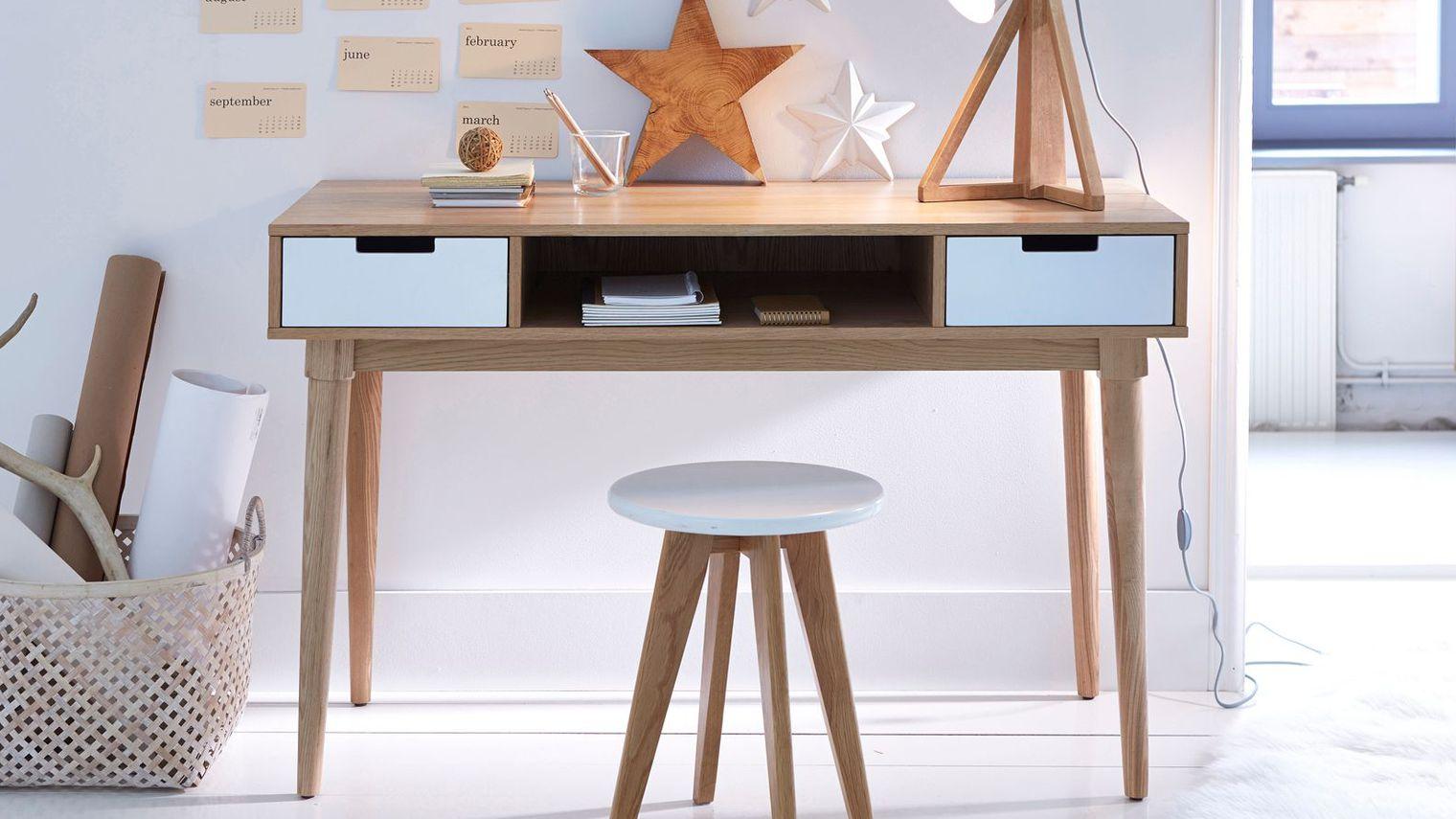 Chambre scandinave maison du monde maison du monde chaise bureau