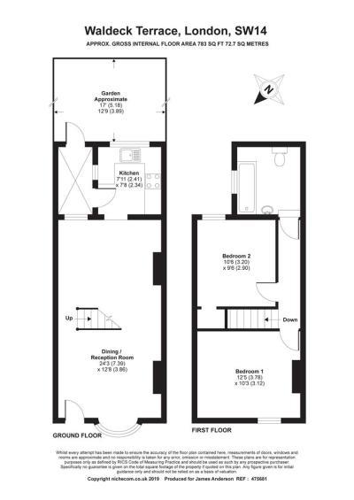 Waldeck Terrace, London   James Anderson Estate Agents