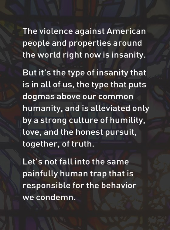 Insanity in all of us