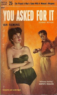 CR prend provisoirement le titre de « You asked for it » dans cette édition US, Popular Library, 1955.