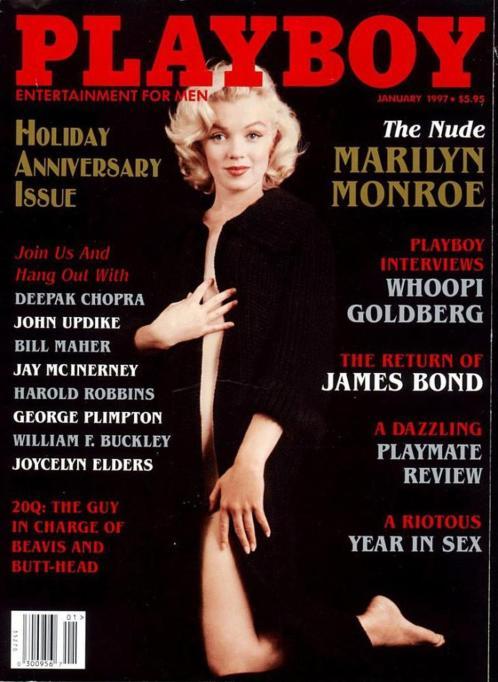 Première édition, Playboy, janvier 1997