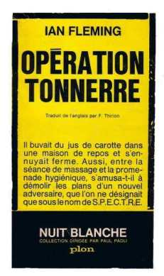 Nuit Blanche, 1962, trad : Françoise Thirion