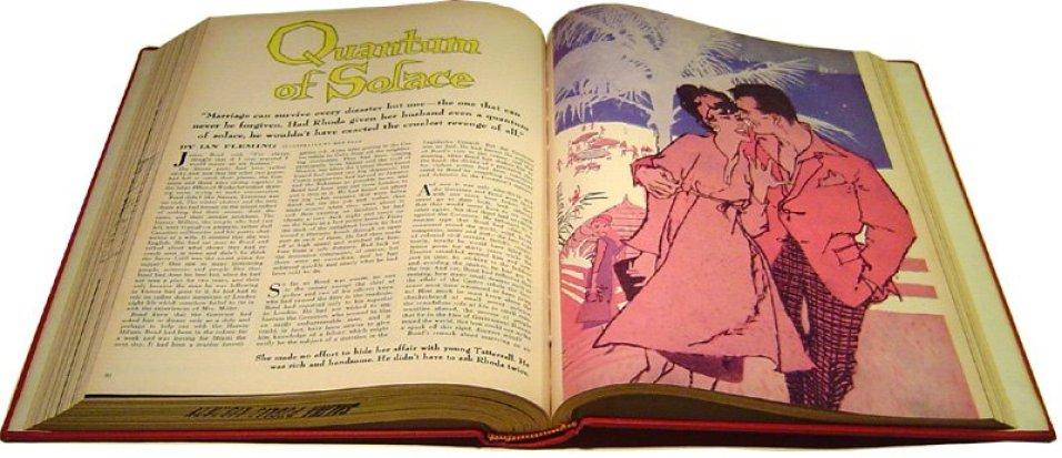 Quantum of Solace, Cosmopolitan, mai 1959