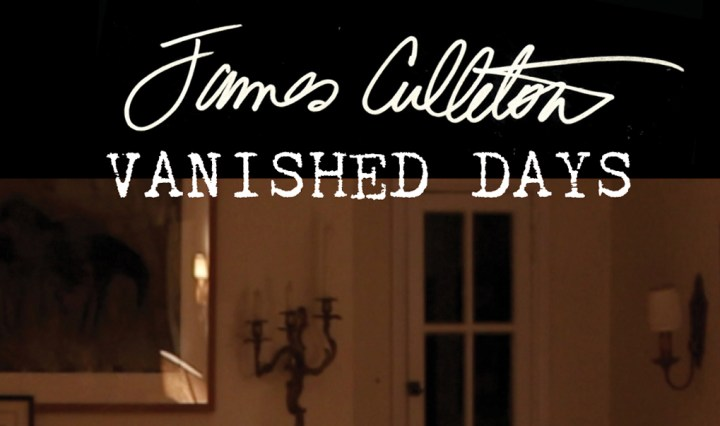 Vanished Days Cover title only