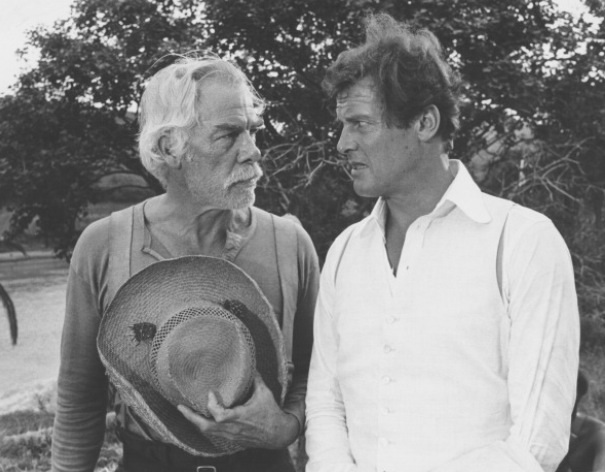 Lee Marvin and Roger Moore. Shout At The Devil (Richard R. Hunt, 1973). Nominated by @harlegator68.